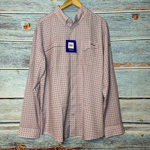 Huk Performance Tide Point Woven Plaid Checked XL
